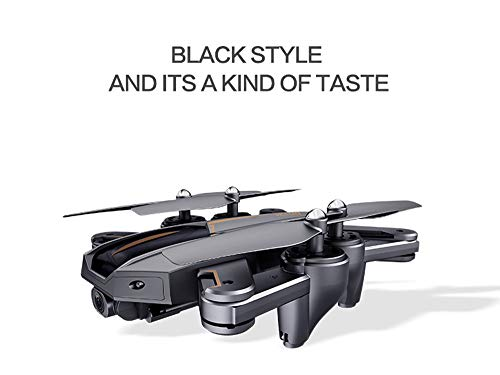 MOZATE VISUO XS812 GPS 5G WiFi FPV 5MP 1080P Wide Angle HD Camera Foldable RC Quadcopter Drone + Two Battery (Black, B) by MOZATE (Image #2)