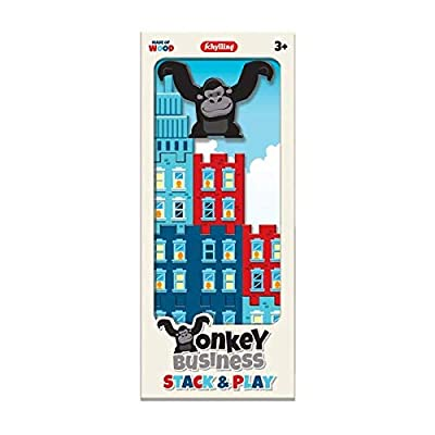 Schylling Monkey Business Stack Play: Toys & Games