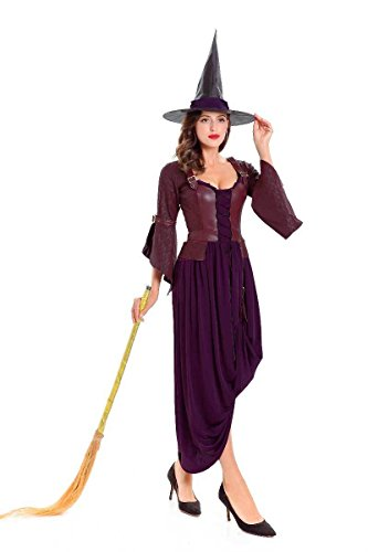 Simmia Halloween Costumes Halloween Dress Party Cosplay Costume bar Party, Style 2, M
