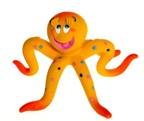 Naturkautschuk Kleinkindspielzeug Badewannespielzeug OLLIE der Tintenfisch