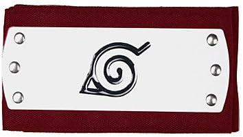 Amazon.com: MU Naruto Konoha Ninja Red Cosplay Headband3.99 ...