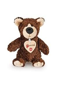 Trudi Chocolate Brown Bear Plush Toy, Small
