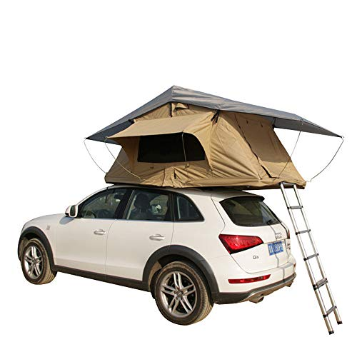 CARWORD Car Roof Tent for Trucks SUVs Camping Travel Mobile Hydraulic Boost Accommodating 2-3 People