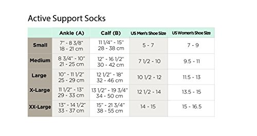 Ames Walker AW Style 632 633 Diabetic 8-15 mmHg Firm Compression Knee High Socks White Large - Seamless toe reduces pressure - Cushioned foot bed - Wicking material - Anti-microbial by Ames Walker (Image #2)