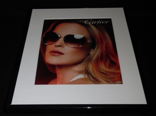 Cartier Sunglasses 2016 Framed 11x14 ORIGINAL - Cartier Sun Glasses