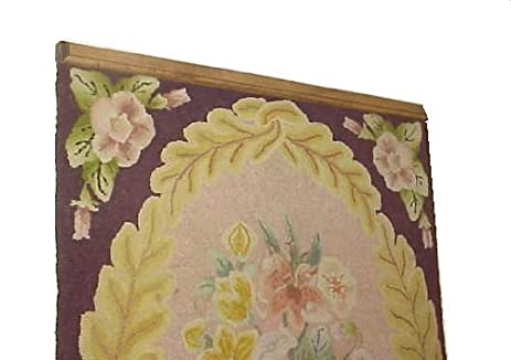Attractive Any Size To 65 Inch Clamping Style Quilt Rack Throw Rug Hanger   Pine