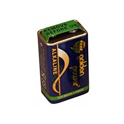 Morris 52628 Alkaline Batteries, 9v