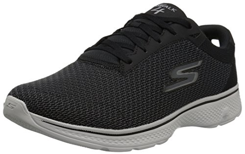 EU Walk 41 Baskets Grey Homme Noir Basses Black Skechers Go 4 8qwZRB