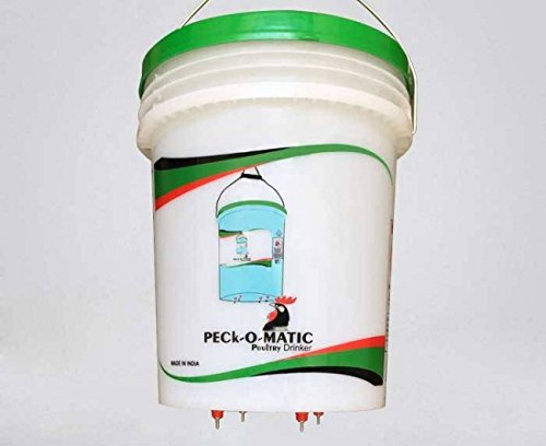 One Peckomatic (Peckomatick) Poultry Drinker by PECk-O-MATIC