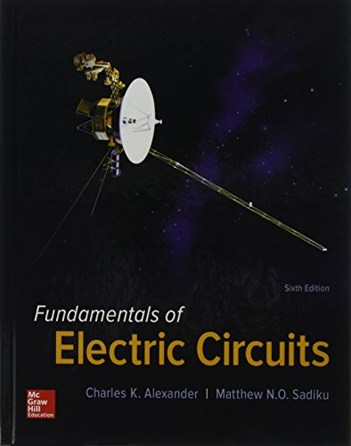 Card 6 Circuit - Package: Fundamentals of Electric Circuits with 2 Semester Connect Access Card