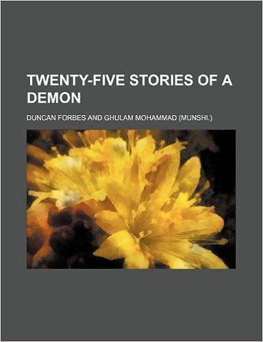 Book Twenty-Five Stories of a Demon