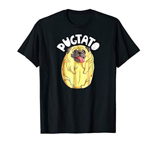 Pugtato Pug Potato Dog Lovers Meme Cotume Tee Tshirt