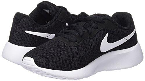Nike Boy's Tanjun Running Sneaker Black/White-White 13 by Nike (Image #7)