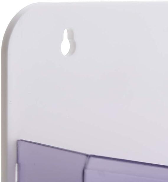 Porta depliant magnetica da parete con 3 divisioni di 270x257x65mm PrimeMatik