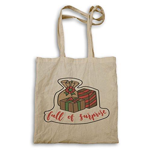 Frohe Weihnachten Santa Geschenke Tragetasche r875r