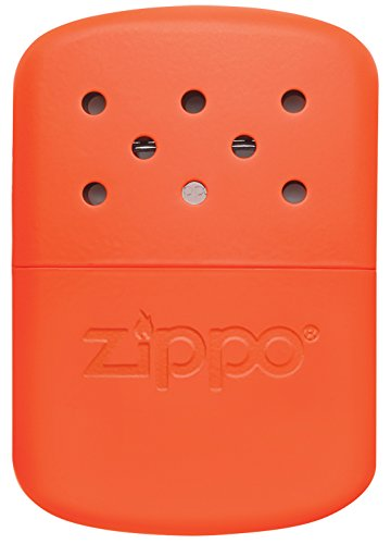 Zippo Hand Warmer for staying warm camping in a tent with tips to stay warm when camping