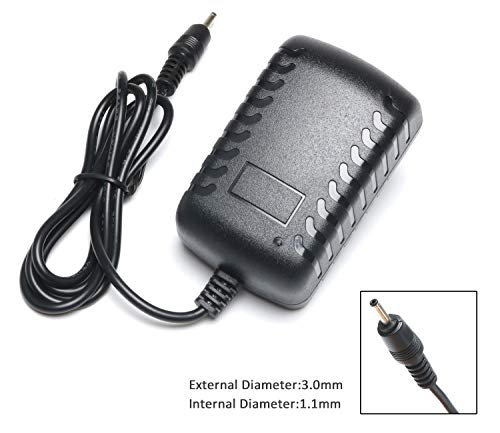 (12V Adapter Wall Charger Replacement for Acer Iconia Tab Tablet A100 A101 A200 A210 A500 A501; Aspire SW5-012 Switch 11 SW5-111;Lenovo Miix 2 10 11 Tablet;Ak.018ap.027 Lc.adt0a.024 Power Supply Cord)