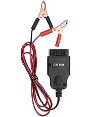 Wosune Conector OBDII, cabo de teste de bateria automotiva de alta temperatura, peças de reparo automotivo para veículos de 1996 e posteriores