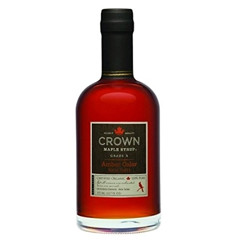 Crown Maple Syrup, Rich Amber, 12.7 Fluid Ounce, (12.7 Fluid Ounce) by Crown Maple