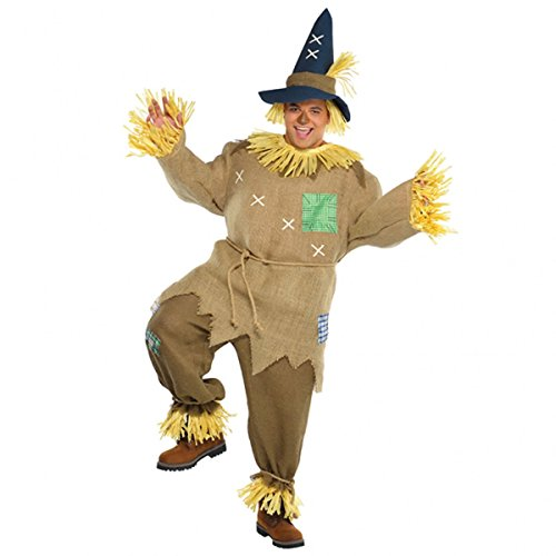 Brown Costume Mr (Mr Scarecrow Costume - Standard - Chest Size)