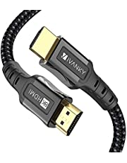 8K HDMI Cable 6.6 ft iVANKY HDMI 2.1 Cable 8K@60Hz Ultra HD 48Gbps 8K HDR, 3D, 4320P,2160P, 1080P, Ethernet - Zinc Alloy Shell - Audio Return (ARC), UHD TV, Monitor, PS4, PS3, PC