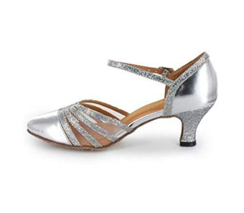 Moderno 6cm Pu e Jazz Silver Style3 Joymod Donna MGM Heel qwg8xEtcY