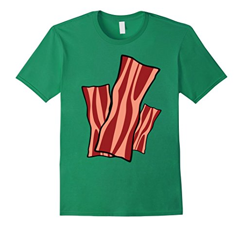 Mens Bacon N' Egg Costume T-Shirt Funny Halloween Small Kelly (Bacon And Egg Halloween Costume Make)