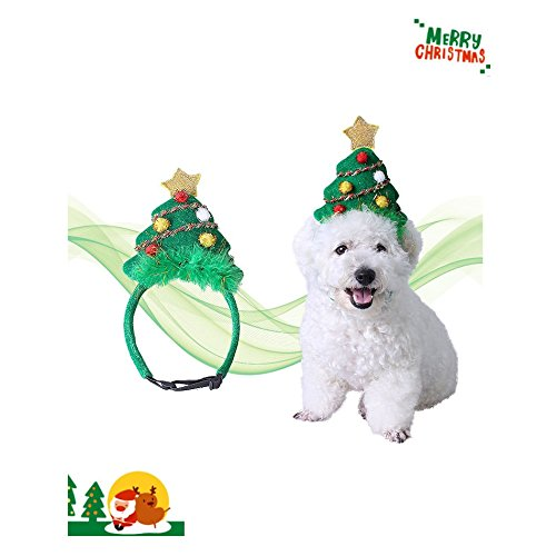 Stock Show Pet Dog Christmas Costume Hat Puppy Dog Xmas Tree Fashion Hat Headband Head Hoop Holiday  - http://coolthings.us