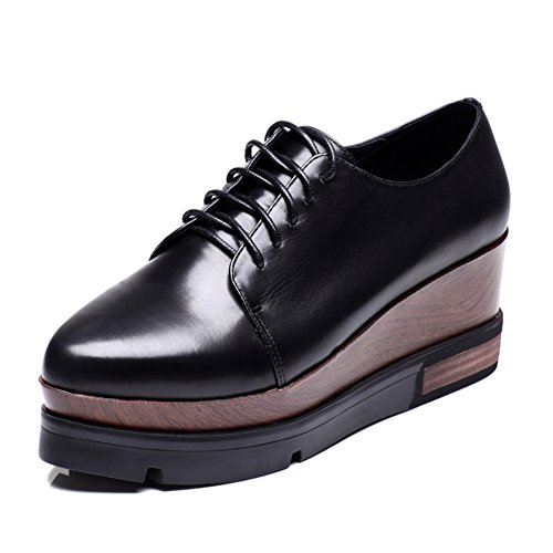 Caída plataforma zapatos/Borlas acentuado tacones/Zapatos de cuñas B