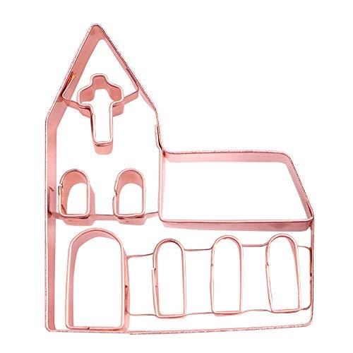 2.75 inch Small Copper Church Cookie Cutter and Fondant Cutter ()