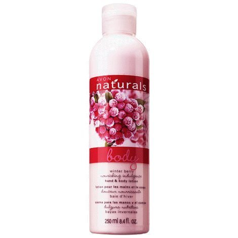 Avon Naturals Frosted Winterberry Body Lotion Avon Naturals Blackberry