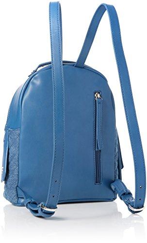 Fiorelli Denim Mujer Quilt 12x27x22 FH8717 Azul Para Mochila cm rWUrTO