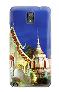 Premium Thailand Holiday Chiang Mai Doi Suthep Back Cover Snap On Case For Galaxy Note 3