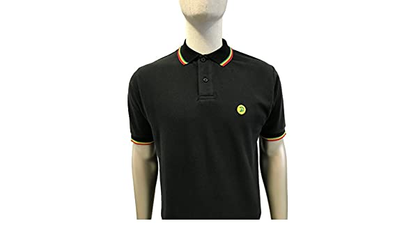 Trojan Signature Tipped Polo TR/8379 Rasta: Amazon.es: Ropa y ...