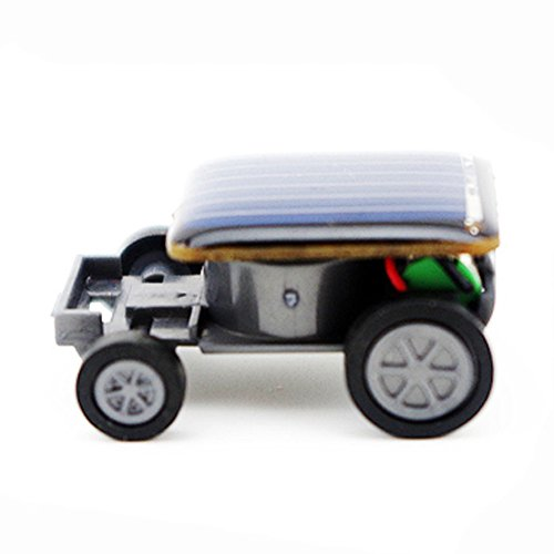 Wenjuan Smallest Solar Power Mini Toy Car Racer Educational Solar Powered Toy Can Move In Sunlight Or Under A Bright Artificial - Mini Racer Solar