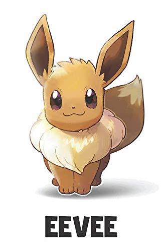 Eevee: Pokemon Notebook, Eevee Notebook, Pokemon Go, Best For Kids, Journal, Diary (110 Pages, Blank, 6 x 9)]()
