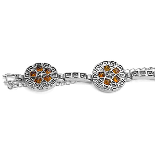 Noda Bracelet en argent sterling 17,5cm