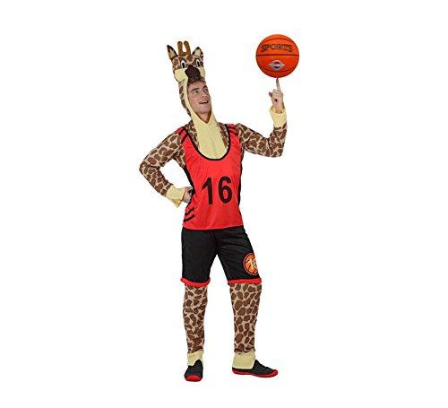 Disfraz de Jirafa jugador de Baloncesto hombre M-L: Amazon.es ...