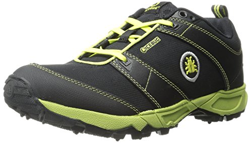 Icebug Men's Pytho3 BUGrip-M, Black/Poison, 9.5 M US
