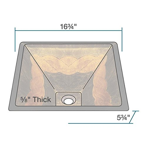 85%OFF The MR Direct 638 Antique Bronze Bathroom 731 Vessel Faucet Ensemble (Bundle - 4 Items: Vessel Sink, Vessel Faucet, Pop-Up Drain, and Sink Ring)
