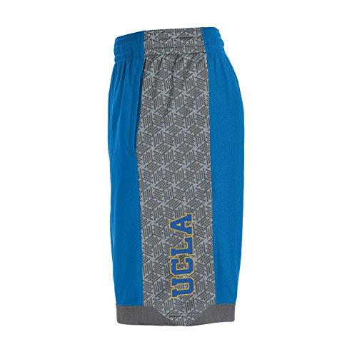 Under Armour NCAA UCLA Bruins Boys Isolation Shorts, Powder keg, Large -