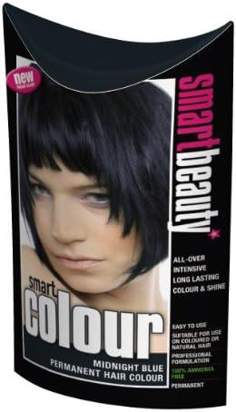 Smart color permanente de la medianoche azul tinte de pelo