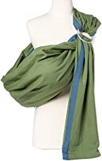 a6926aa62ae Hip Baby Wrap Ring Sling Baby Carrier for Infants and Toddlers (Fern)