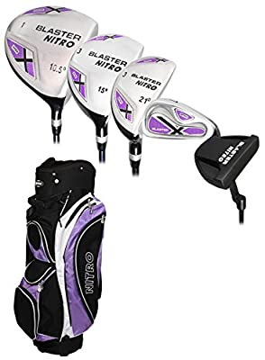 Nitro Golf- Lades Blaster 15 Piece Complete Set with Bag