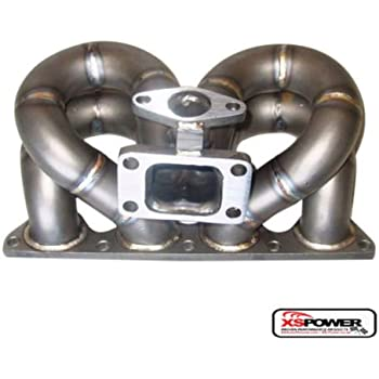 Amazon com: HONDA B-SERIES STAINLESS T3/T4 FULL RACE TURBO