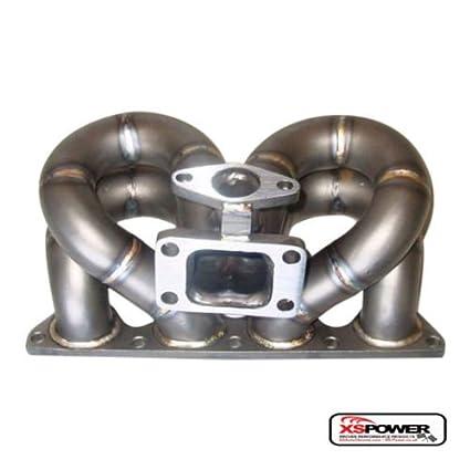 Amazon.com: Turbo Manifold Ram Horn for 1.6L 1.8L Honda Civic Acura Integra B16 B18 3mm Cast: Automotive