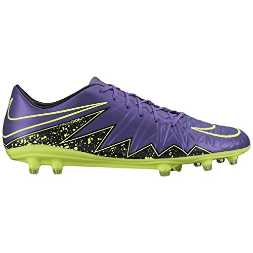 Black Purple Phelon Volt Hypervenom II Calcio Grape Scarpe Black Nike Green da Allenamento Uomo Fg Black Hyper zx15wqap