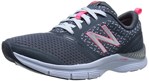 New Balance Womens WX711 Mesh Training Shoe Dark Grey/Pink IEtr7B4