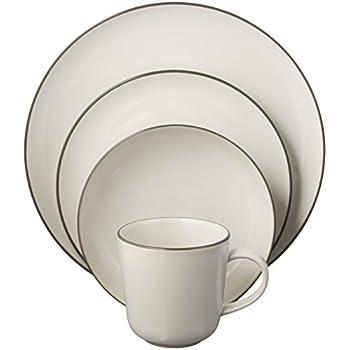 Gordon Ramsay 4-Piece Bread Street Dinnerware Set White  sc 1 st  Amazon.com & Amazon.com | Gordon Ramsay 4-Piece Bread Street Dinnerware Set ...
