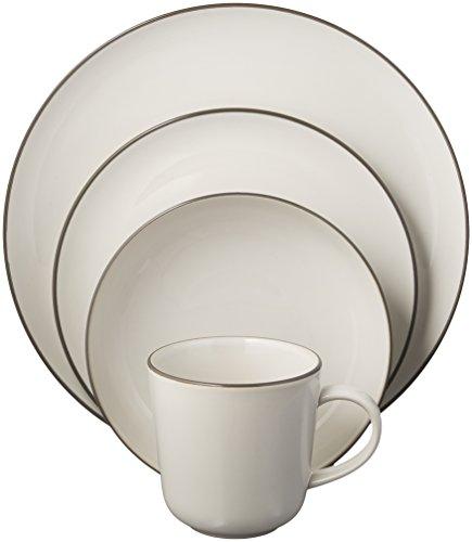 e Bread Street Dinnerware Set, White ()
